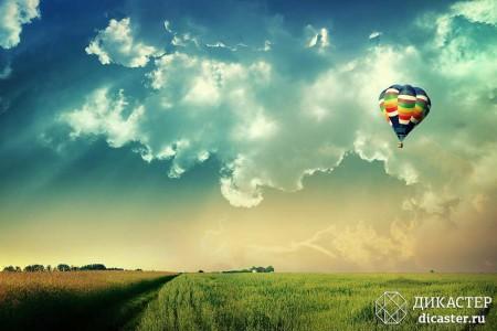 бизнес-притча про менеджера на воздушном шаре